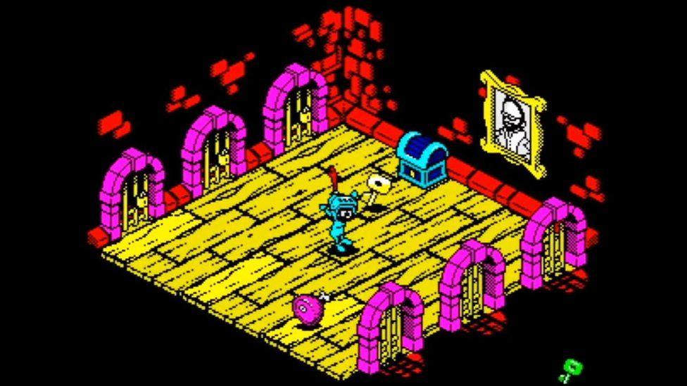Original ZX Spectrum graphics