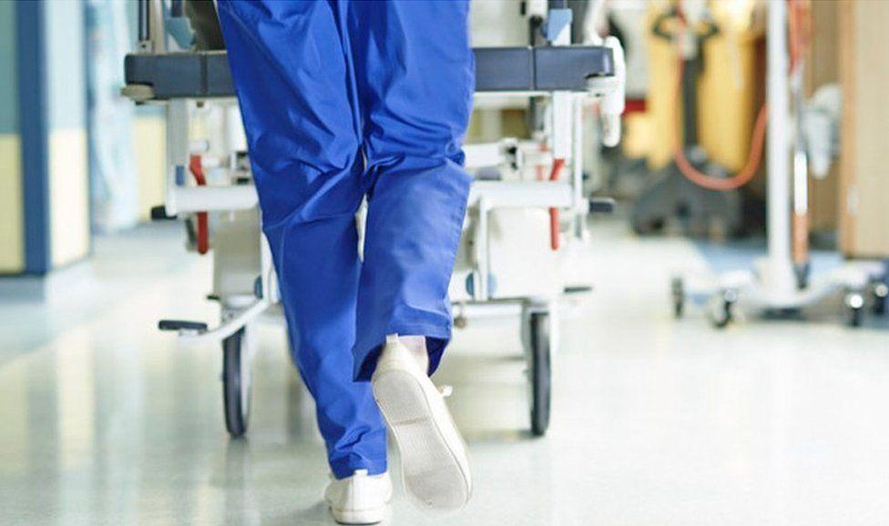 Medic running