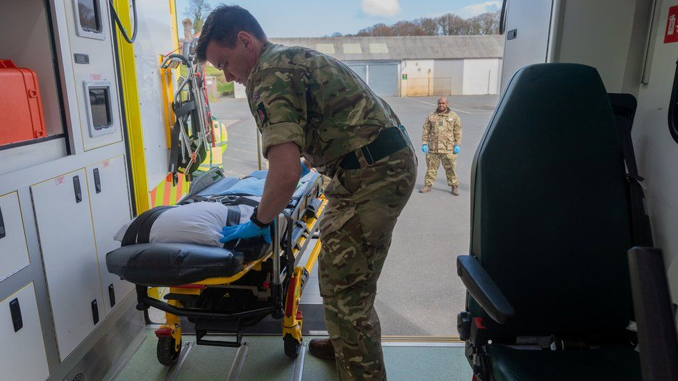 The Army in Wales is training 60 soldiers to prepare to support the Welsh Ambulance Service NHS Trust (WAST) in the battle against the novel coronavirus COVID-19. The soldiers, will be taken through a two-day training package delivered by WAST.