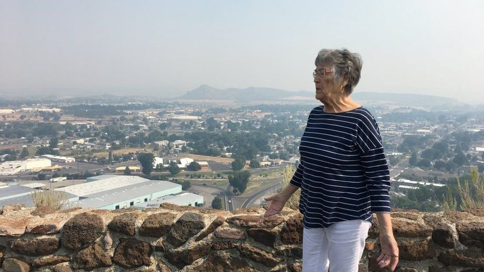 Mayor Betty Roppe oversaw Prineville's transformation after data centers were built in the city.