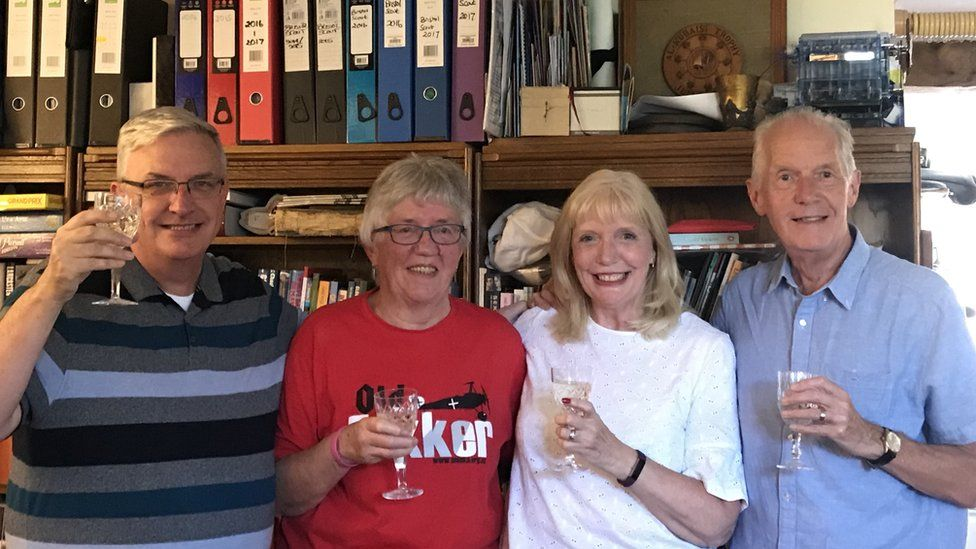 John Connell, Margaret Hannay, Sue Bremner, Lawrence Connell