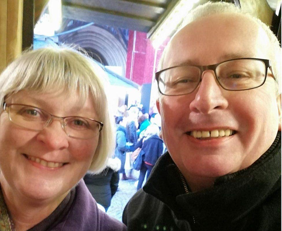 Stephen Drury and his wife Lynne Drury