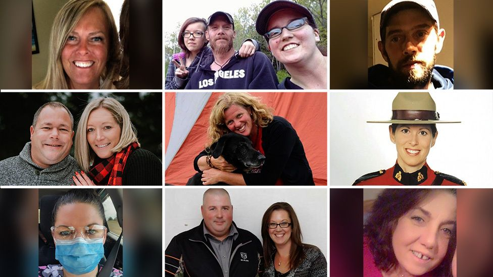 Victims of Canada's largest mass shooting