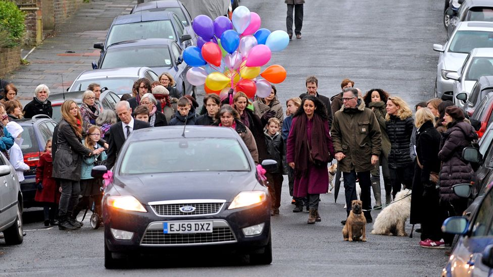 Niamh's funeral procession