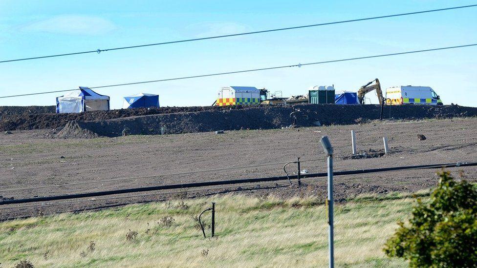 Poplars Landfill Site in Cannock