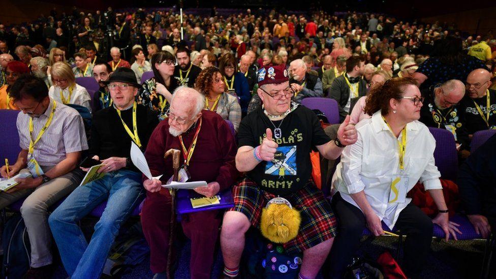 SNP conference delegates
