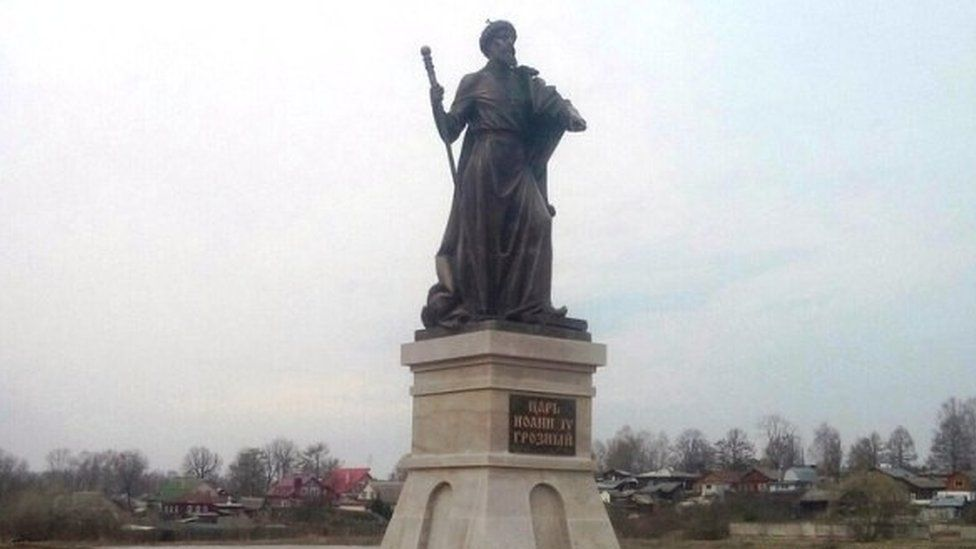 Statue of Ivan the Terrible in Alexandrov