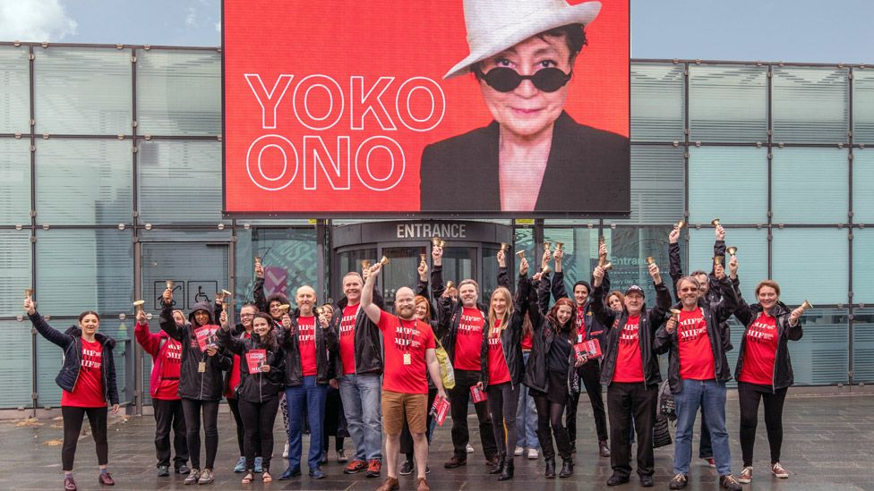 Manchester International Festival: Yoko Ono's bells to make a noise for peace