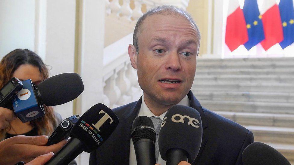 Maltese Prime Minister Joseph Muscat