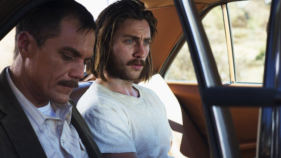 Michael Shannon (left) and Aaron Taylor-Johnson in Nocturnal Animals