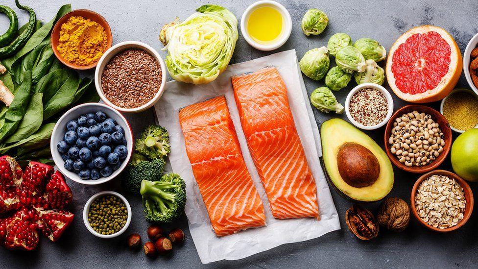 Healthy fresh food