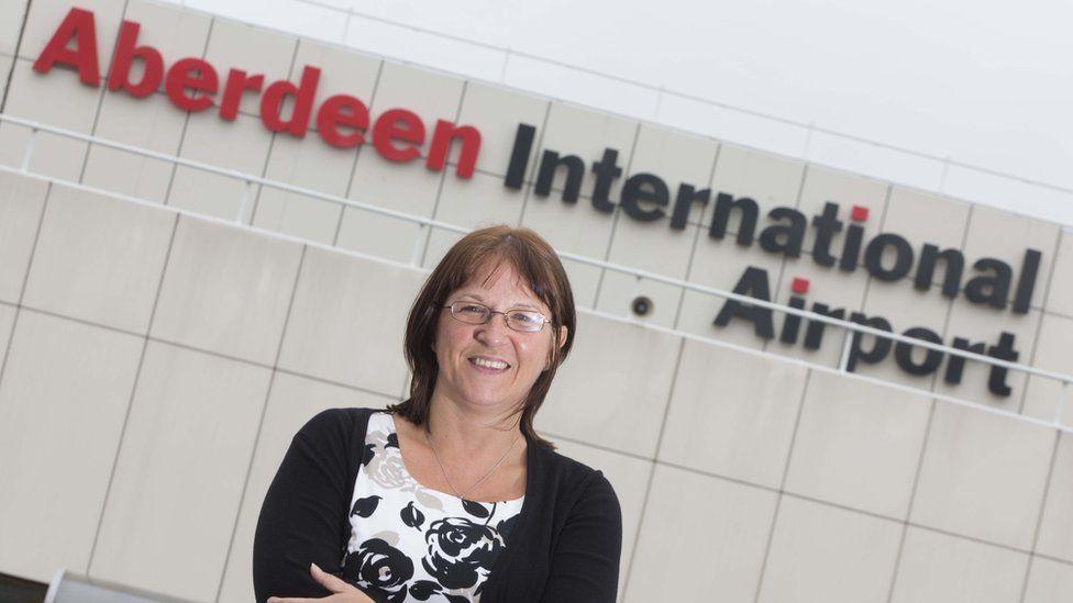 Carol Benzie, managing director of Aberdeen International Airport