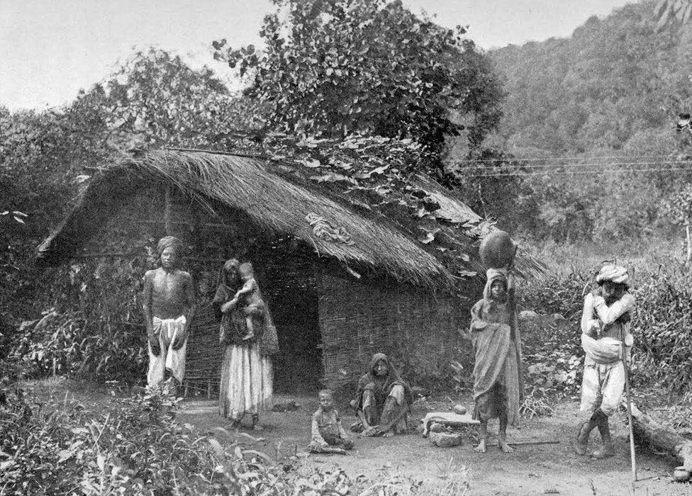 India famine