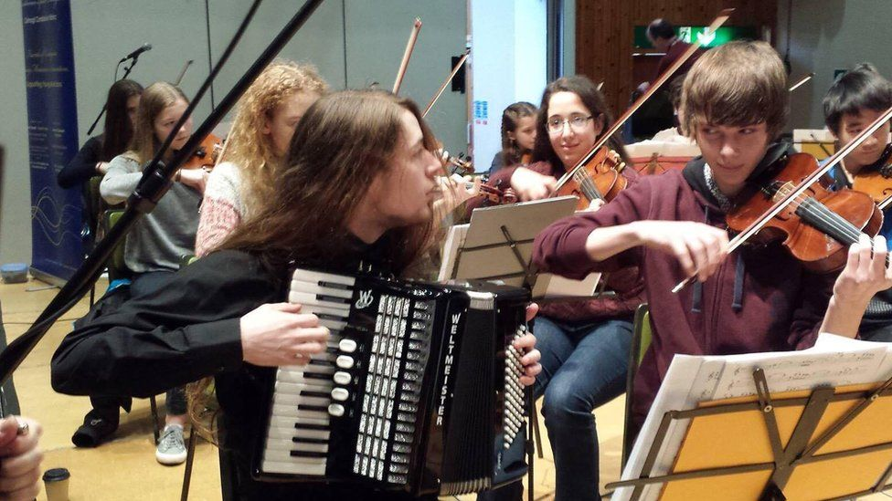 Ceredigion young musicians