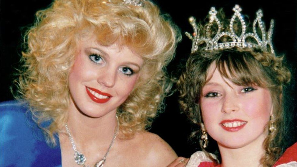 Two Tipton Carnival Queens
