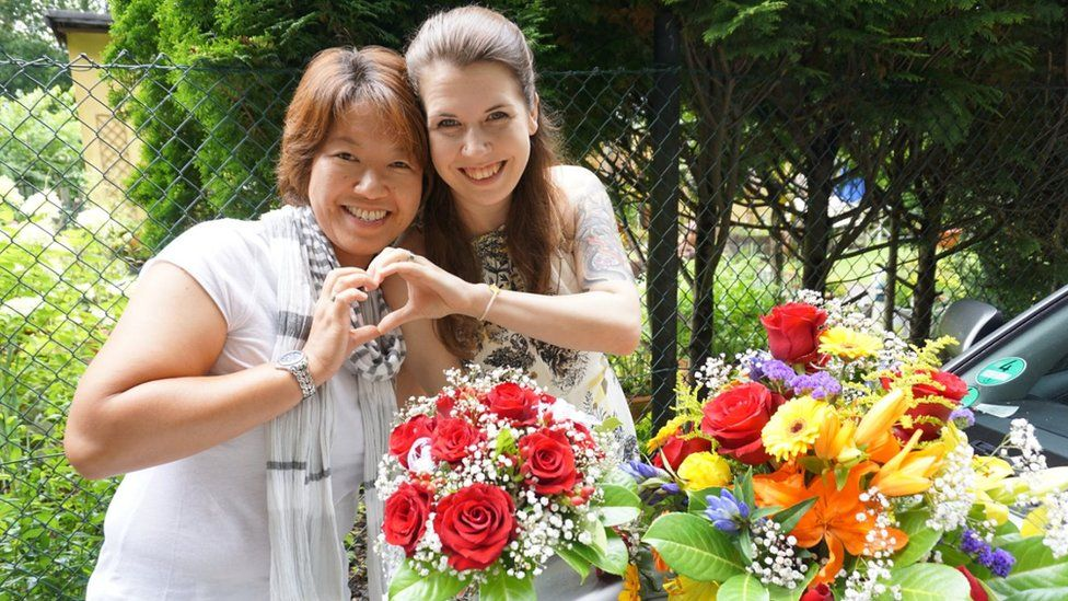 Ai Nakajima and Tina Baumann