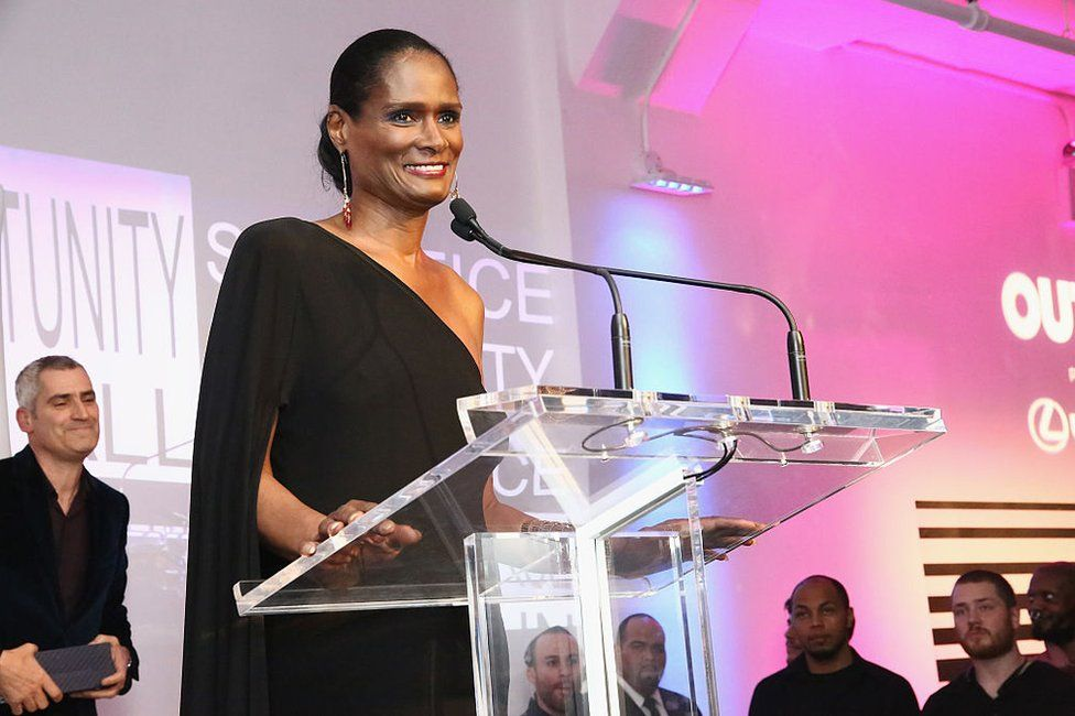 Tracey Norman speaks onstage during the 2016 OUT100 Gala at Metropolitan West on November 10, 2016 in New York City
