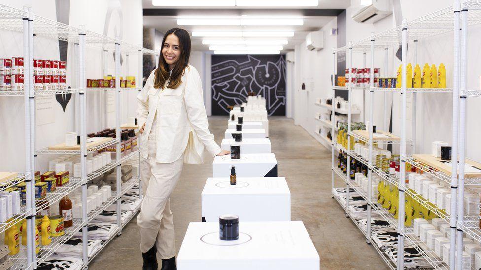 Jules Miller in her New York store