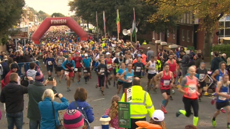 Fundraising from the competitors raises around £40,000 for charity each year