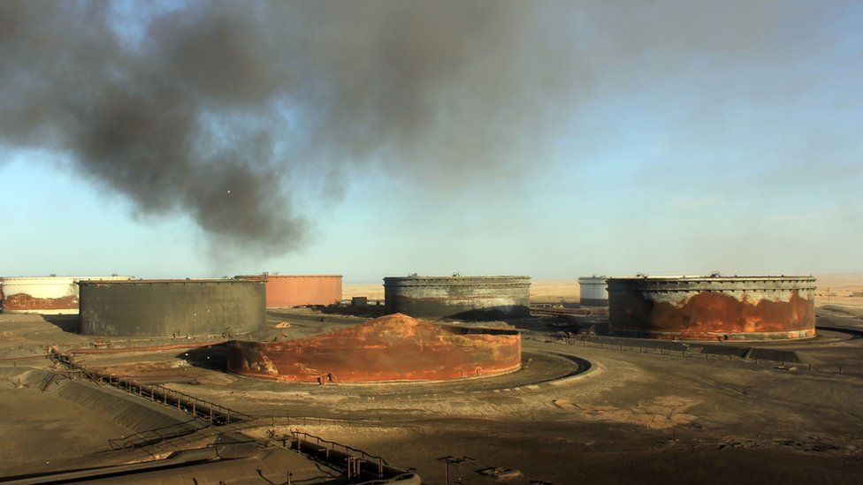 Sidra oil terminal in Libya (file image from January 2016)