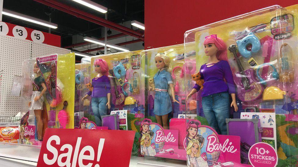 Barbies on sale