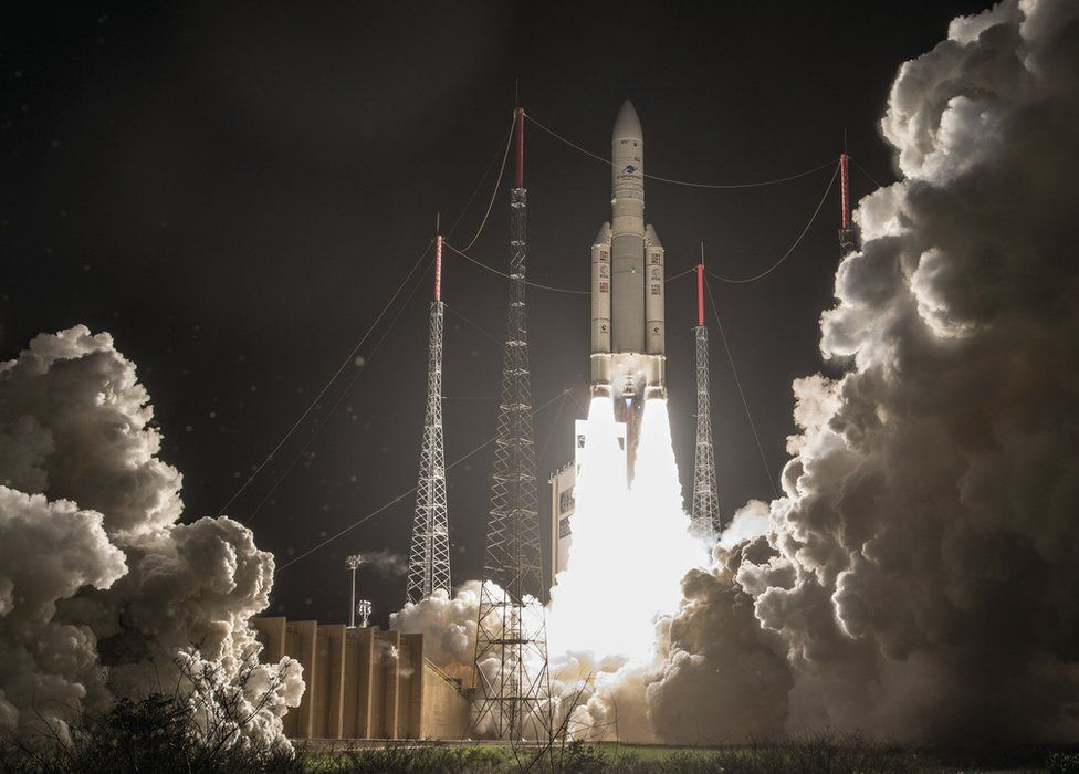 Thursday's Ariane launch