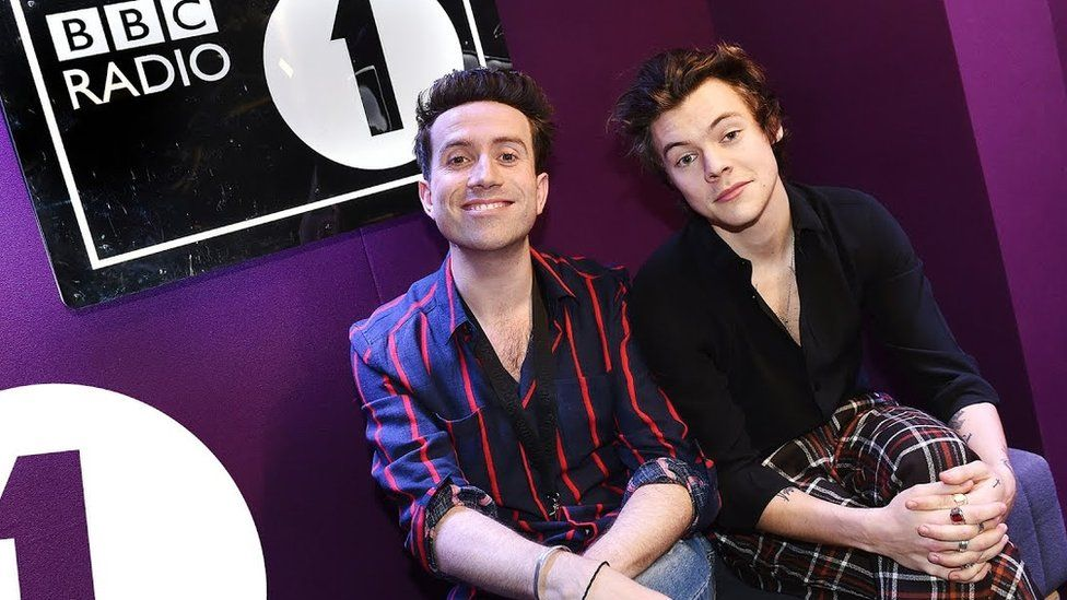 Harry co-hosted the BBC Radio 1 Breakfast Show with Nick Grimshaw