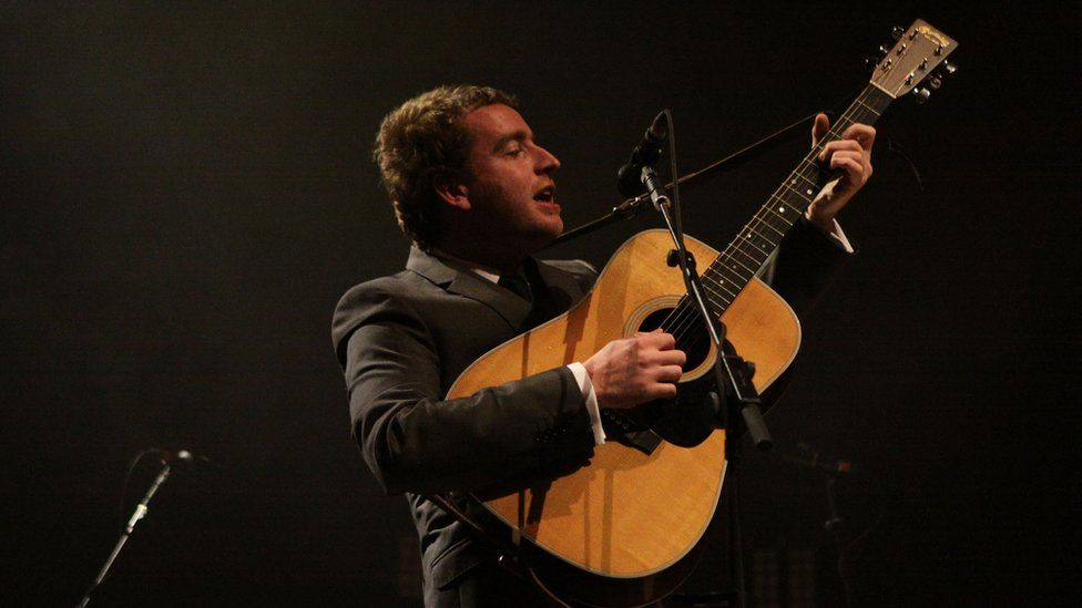 Stephen Fretwell supported The Last Shadow Puppets at the Philharmonic Hall in Liverpool for the BBC Electric Proms in 2008