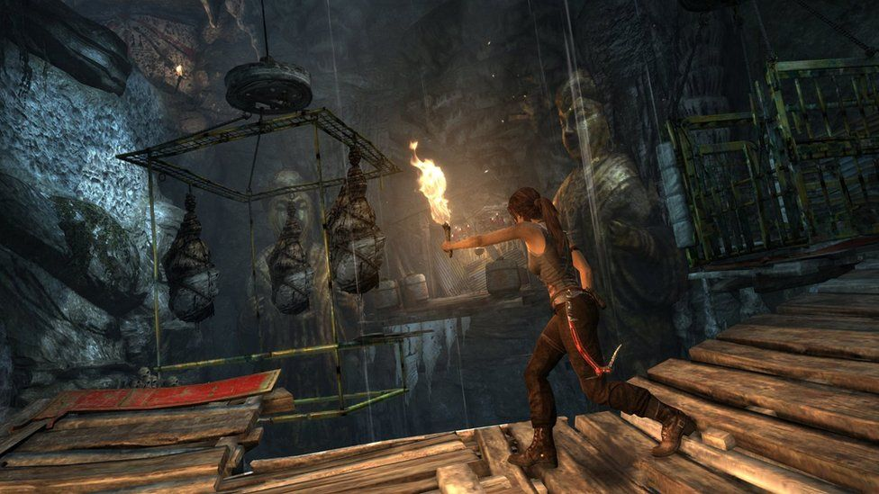 Screenshot from Tomb Raider (2013 reboot)