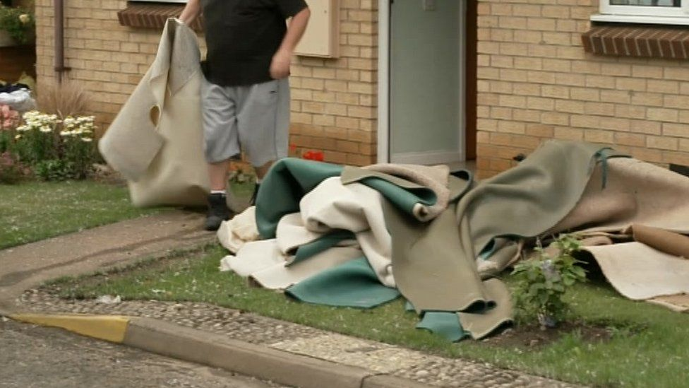 Removing carpets in Peterborough