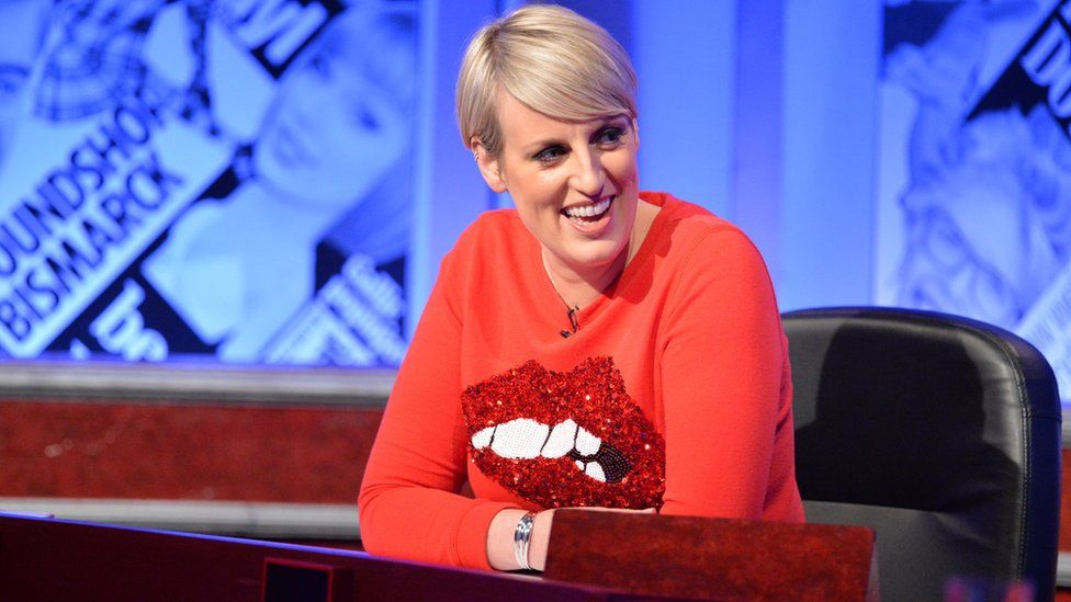 Steph McGovern on Have I Got News For You