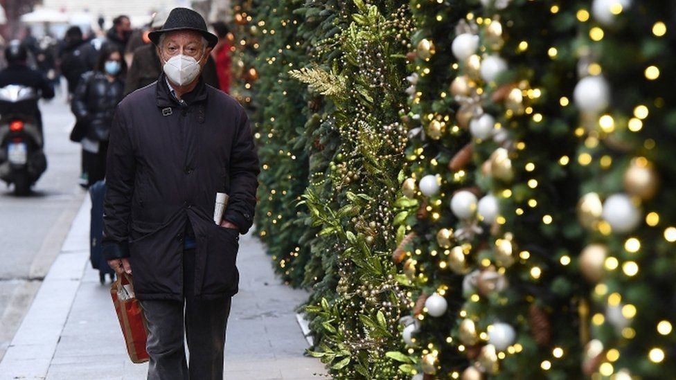 Covid-19: Europeans urged to Wear masks for Family Christmas