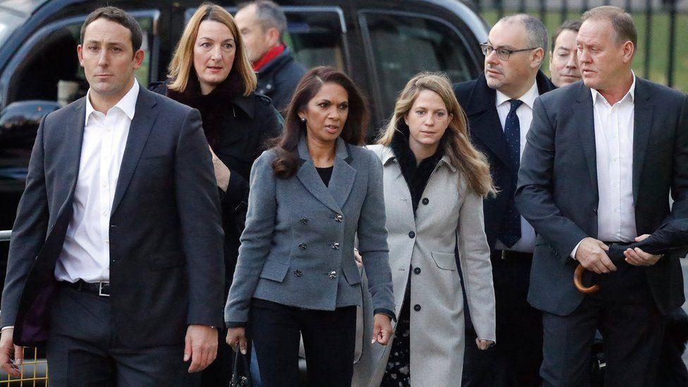 Gina Miller arrives at the Supreme Court