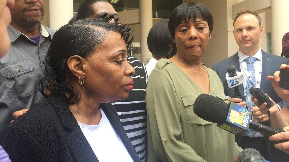 daughters of car crash victim Elbert Davis speak
