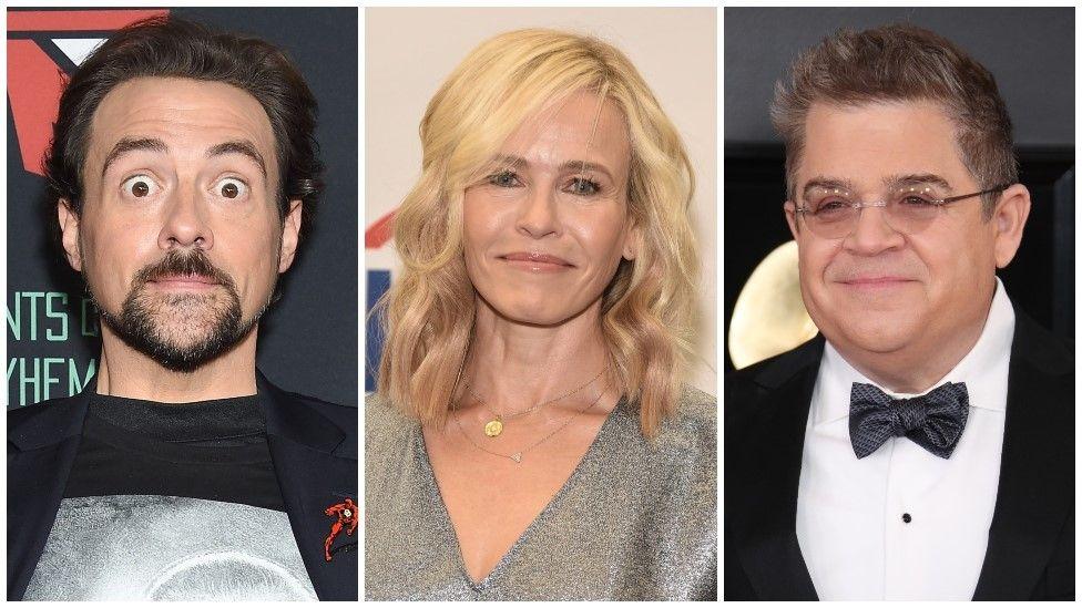 Kevin Smith, Chelsea Handler, Patton Oswalt