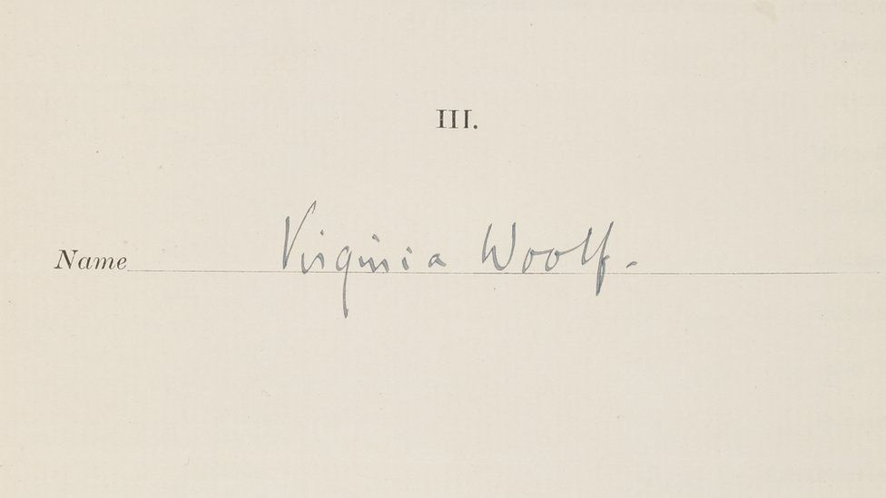 Virginia Woolf auction