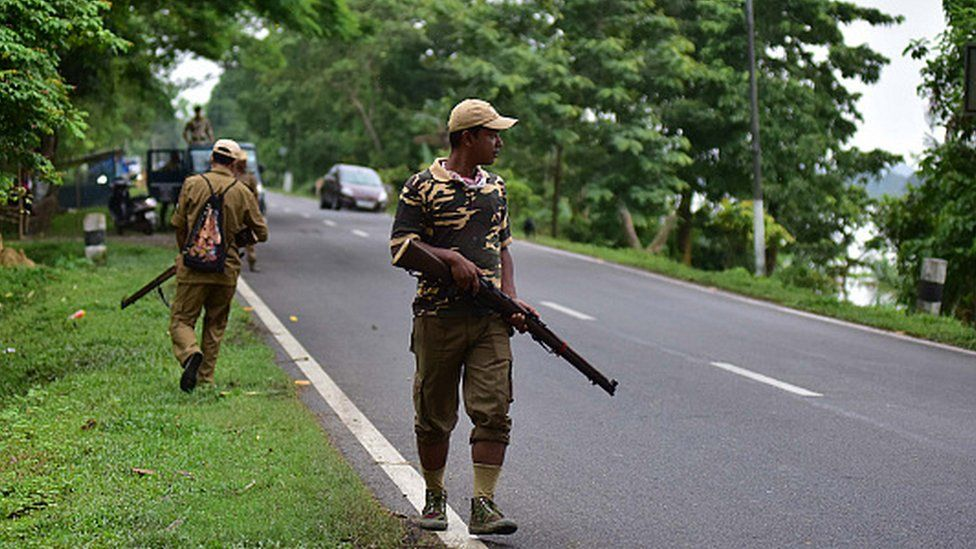 Assam-Mizoram clash: Why peace is fragile between two India states - BBC News