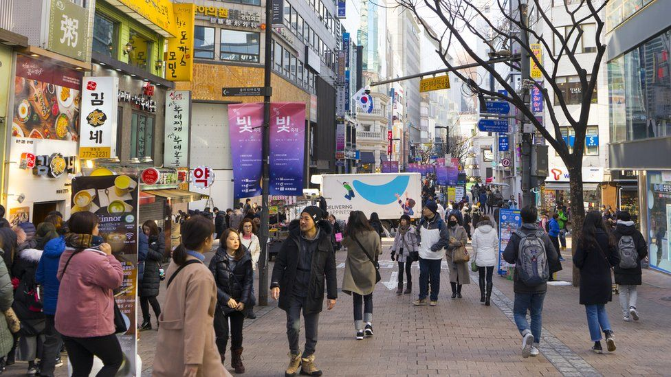 South Korea had a gender pay gap of 34.6%. according to latest OECD figures