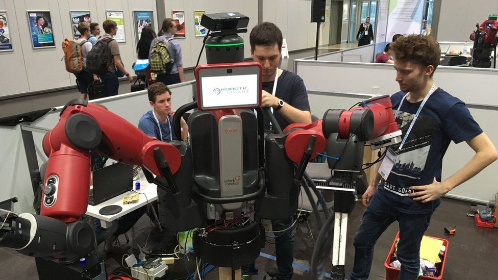 Baxter robot in 2016