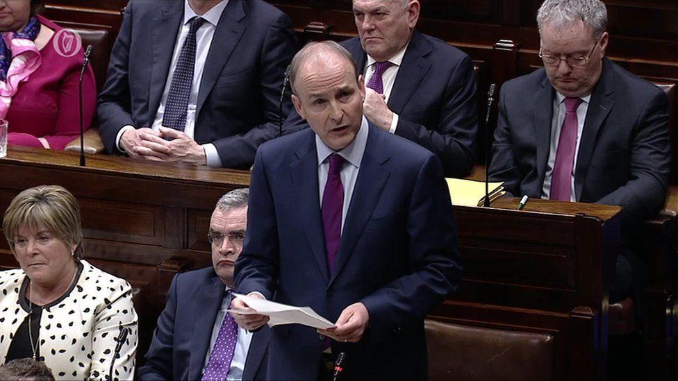 Fianna Féil leader Micheál Martin.