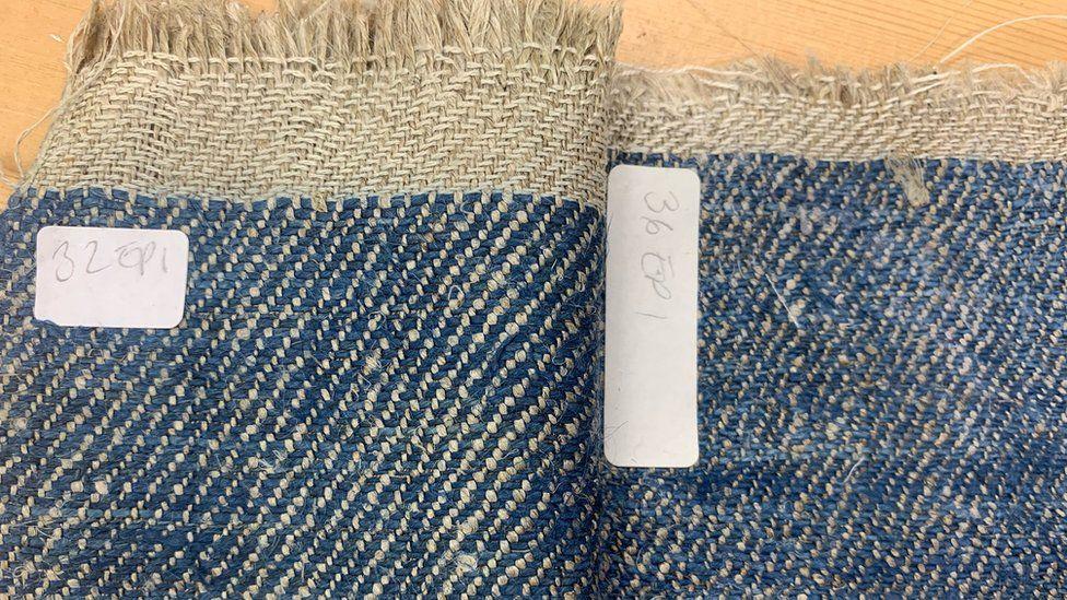 Homegrown Homespun's first linen