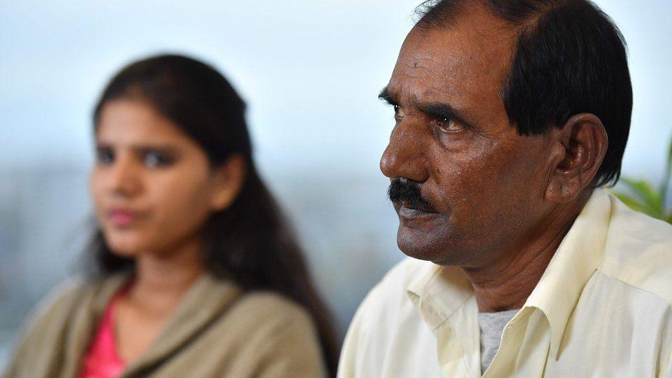 Asia Bibi's husband and daughter