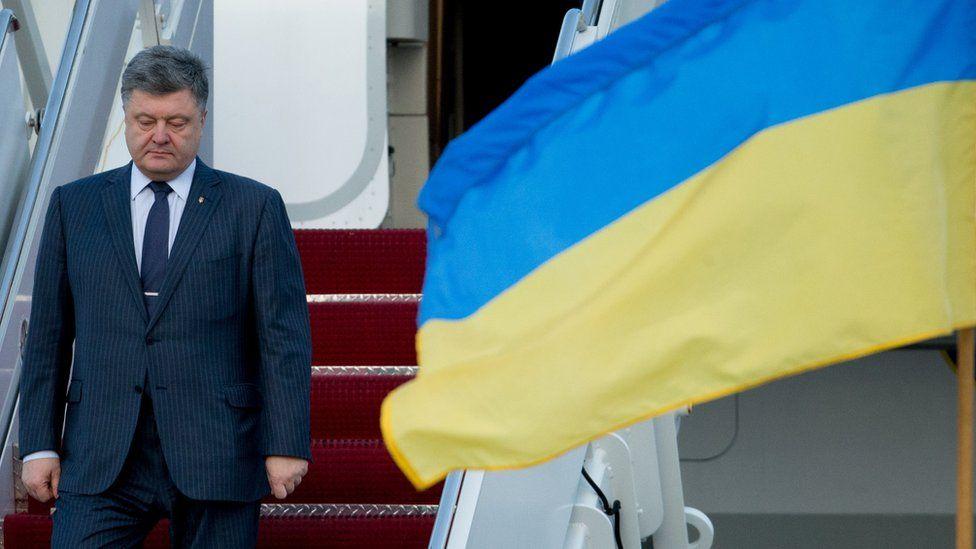 Ukraine's President Petro Poroshenko (31 March)