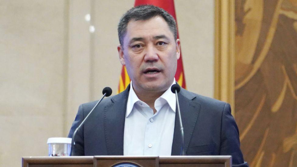 Kyrgyz President Sadyr Japarov