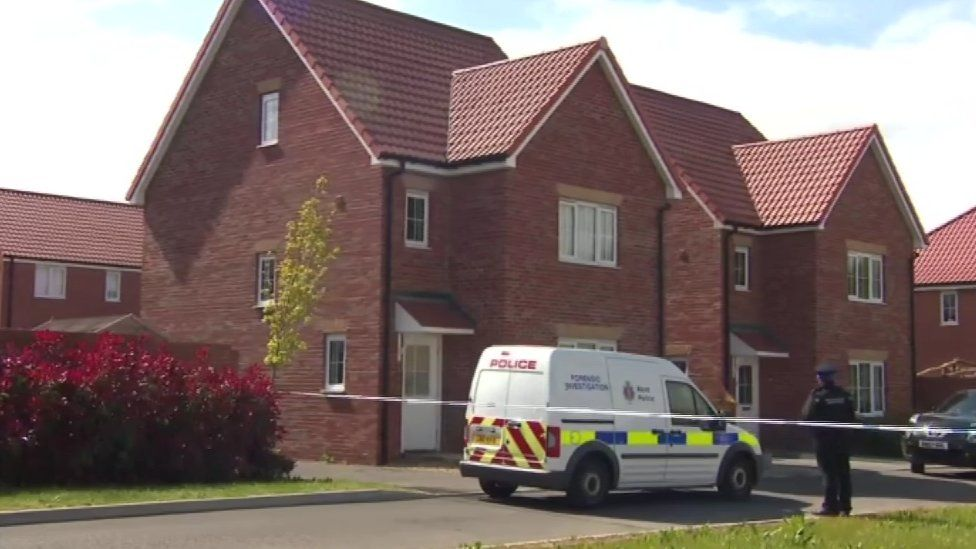 Police search house in Aylesham