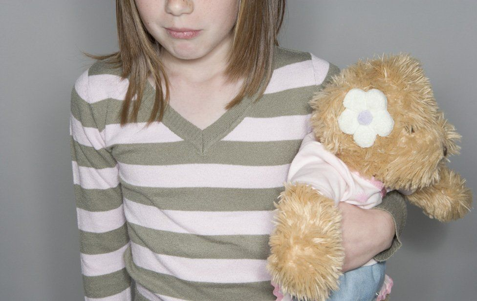 Child with bear - generic