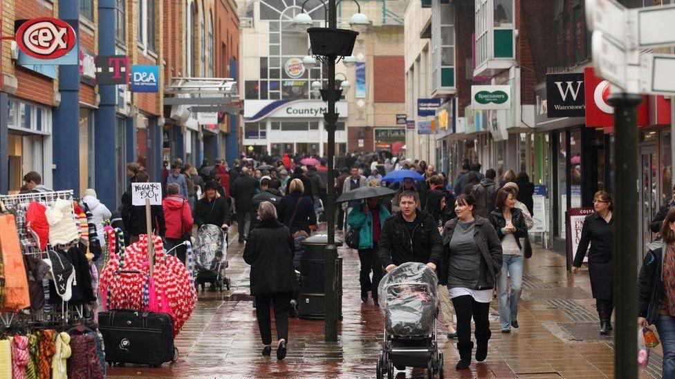 Crawley town centre