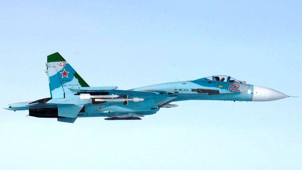 Su-27 near Finland, 7 Oct 16
