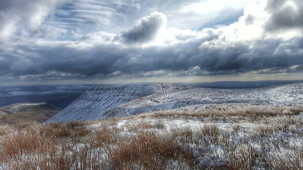 Snowy Brecon Beacons