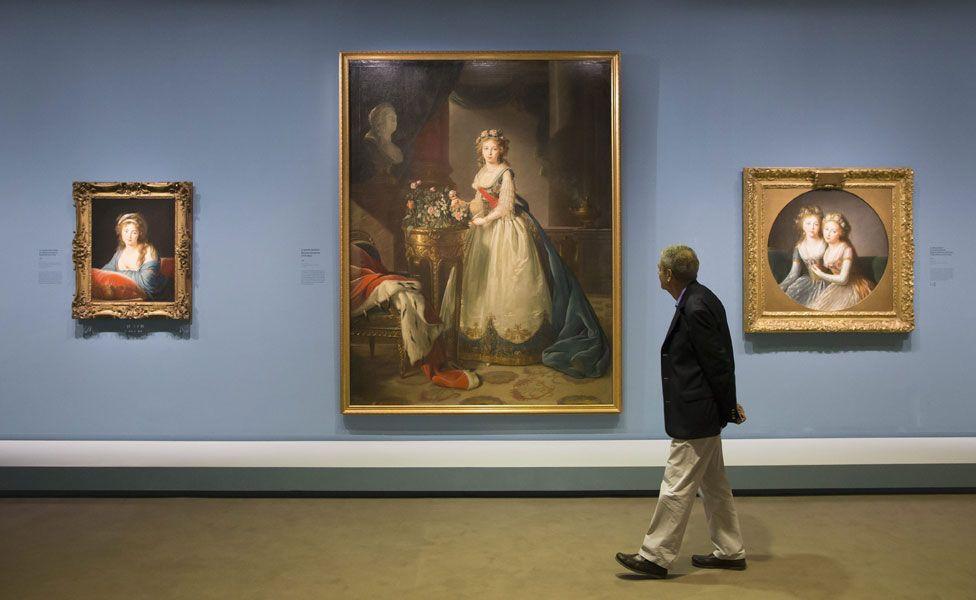 Le Brun exhibition at Grand Palais